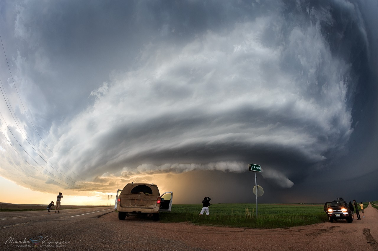 Live Storm Chasing